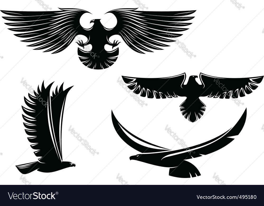 Eagle symbols and tattoo