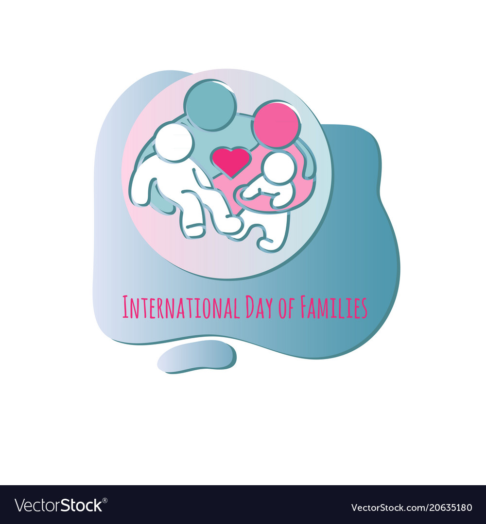 Family icon international day of families