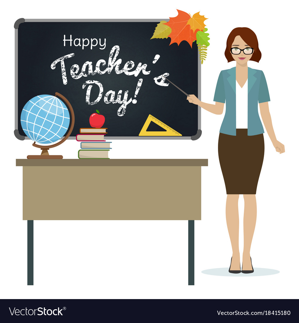 Happy teacher day greeting royalty free vector image happy teacher day greeting vector image m4hsunfo