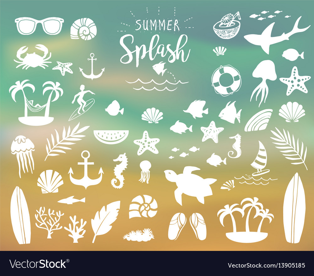 Summer vintage silhouettes