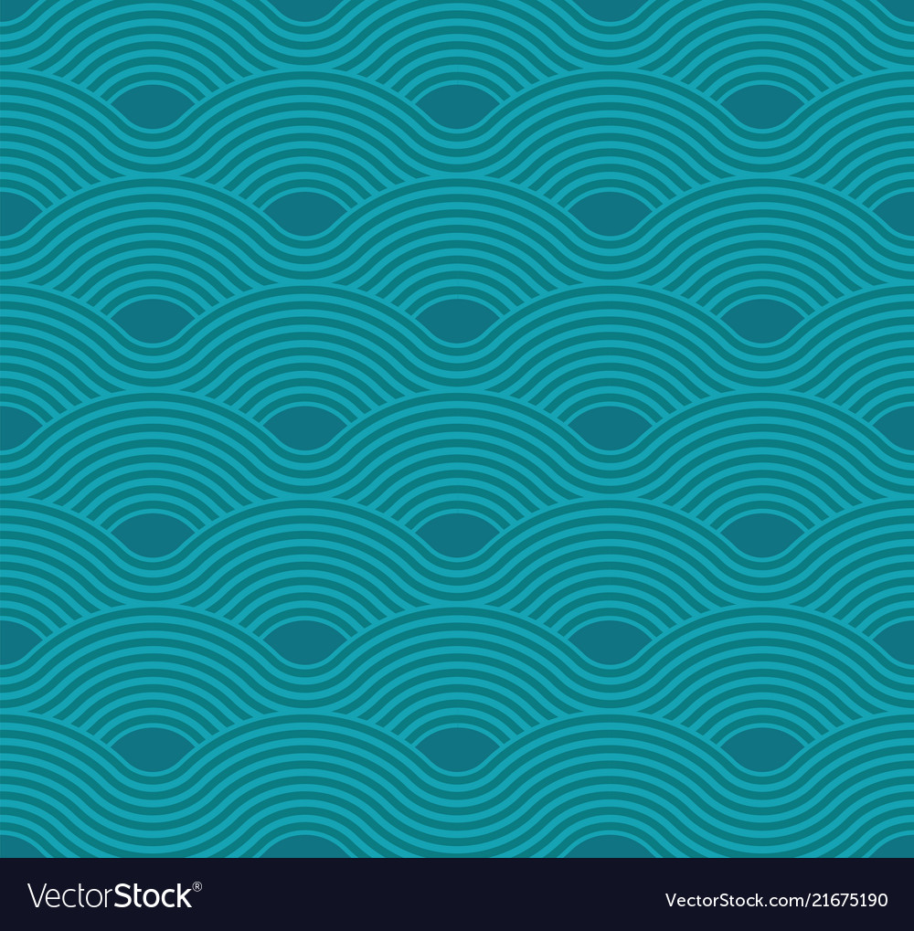 Abstract wave pattern aquamarine ripple