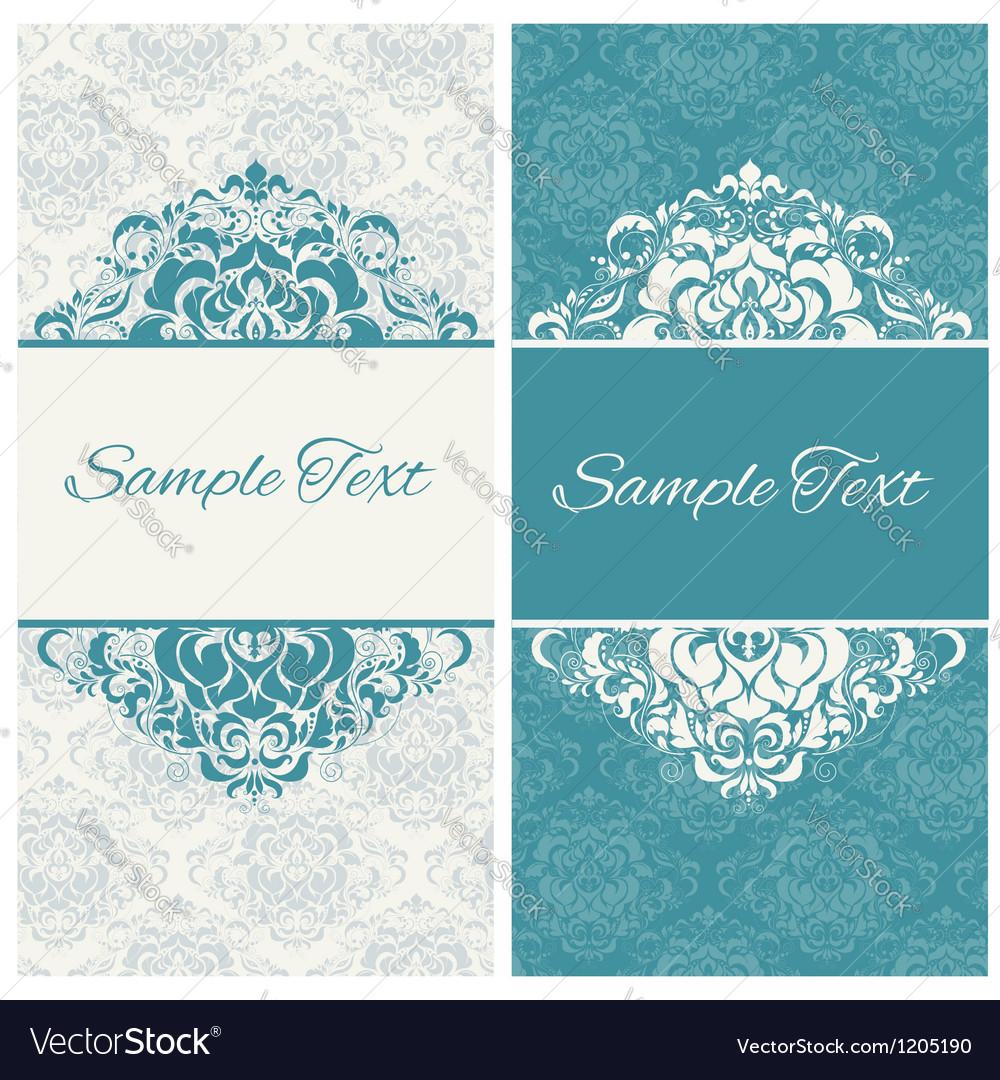 Decorative frame or invitation cards