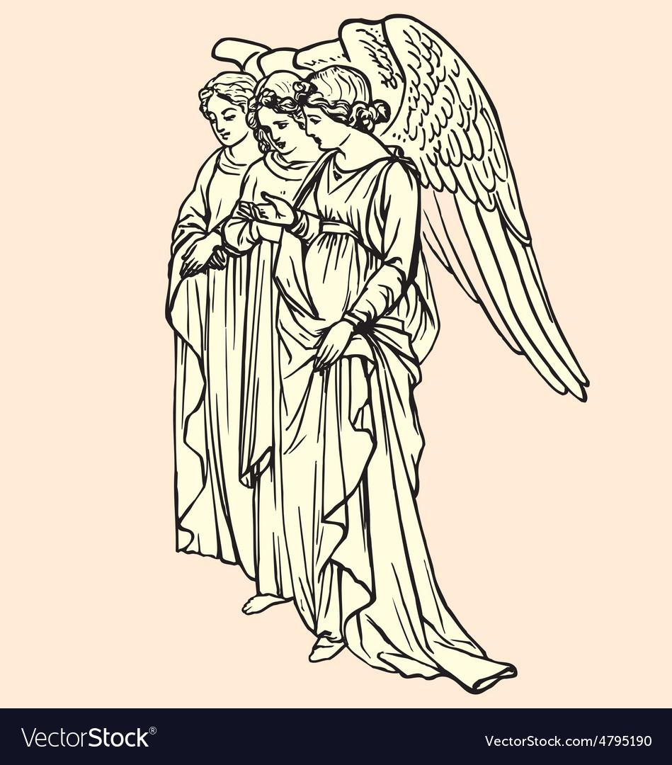Vintage of angels