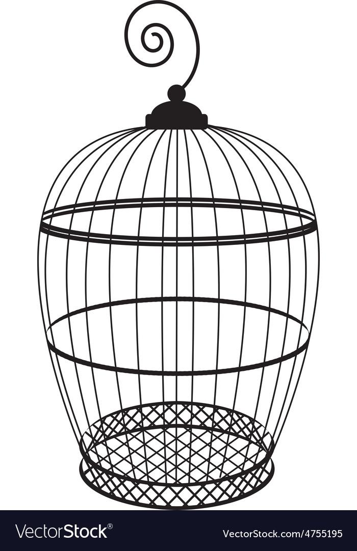 Birdcage Royalty Free Vector Image - VectorStock