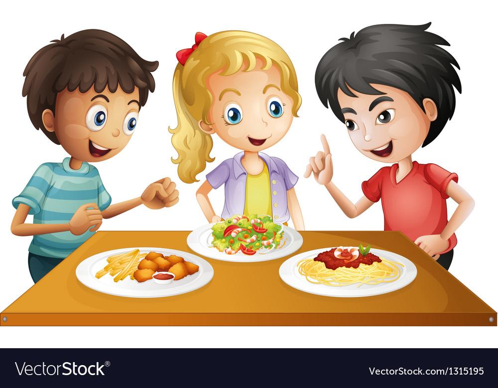 За обедом картинки для детей