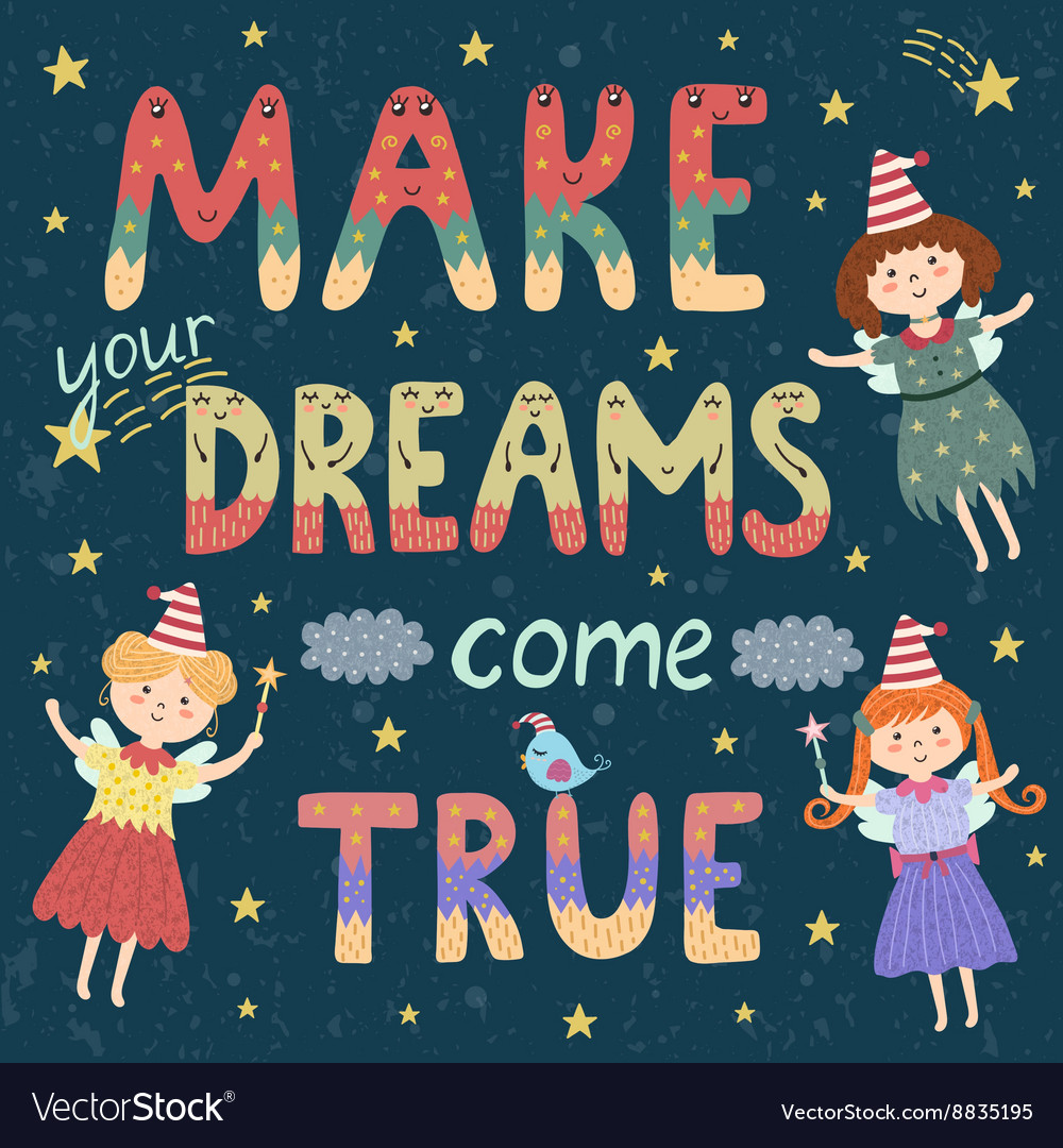 a dream come true Dreams come true childrens charity helps children and young people with serious and life-limiting conditions to fulfil a dream read all of the latest stories, events, and news and find out how to get involved.