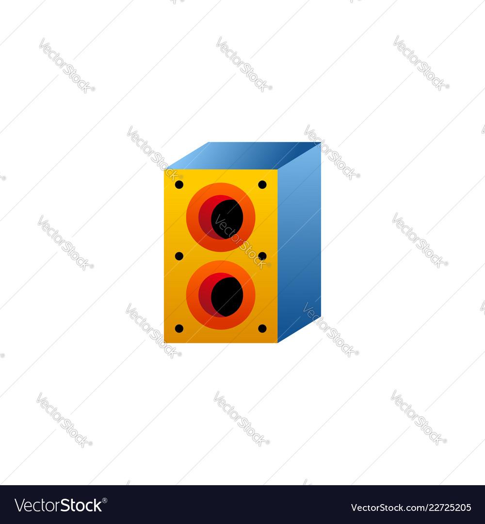 Speaker icon logo