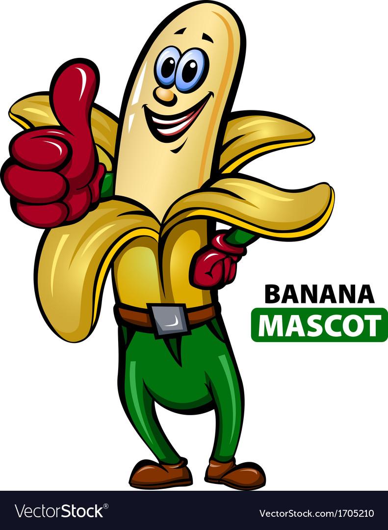 Banana Mascot