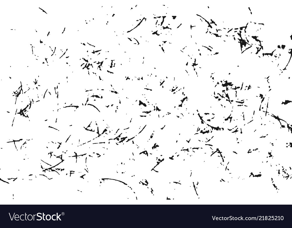 Black grainy texture isolated on white background