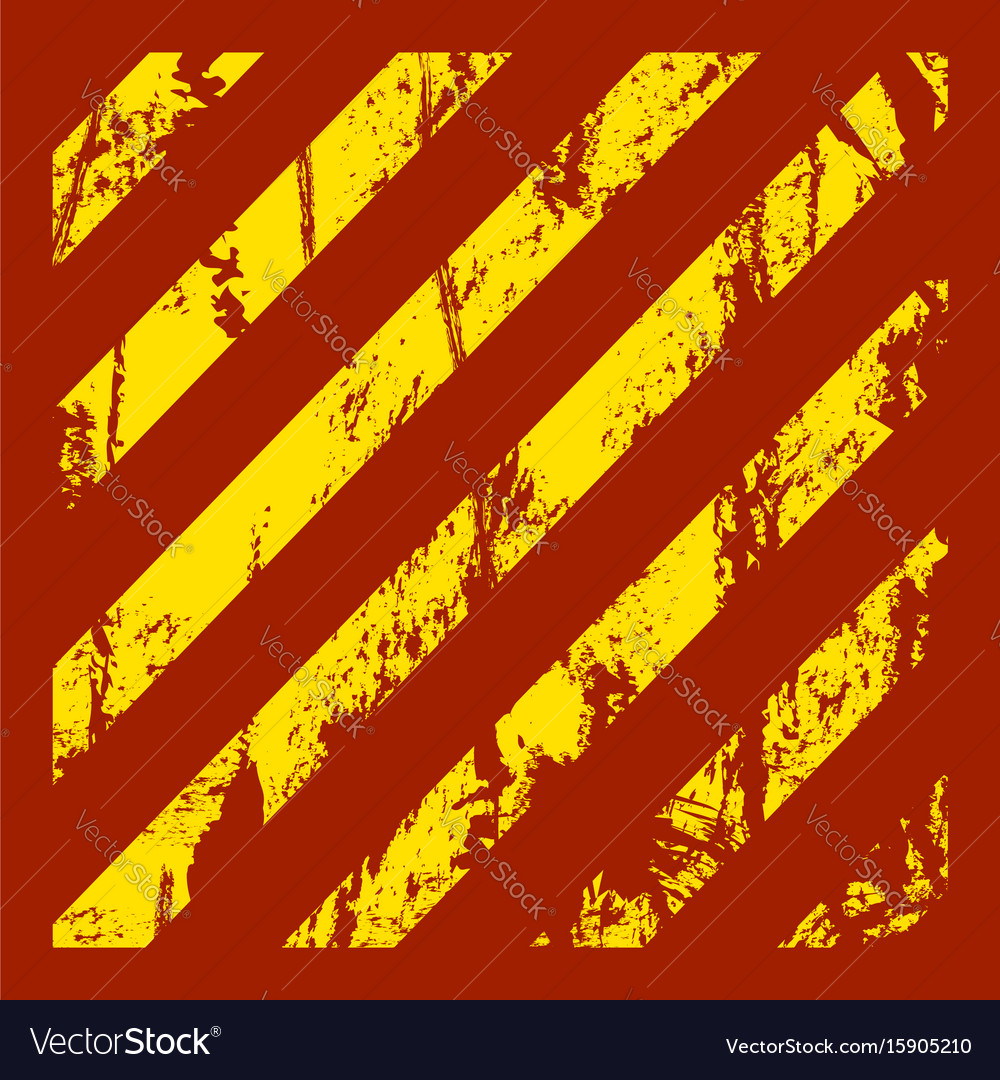Danger warning grunge red background