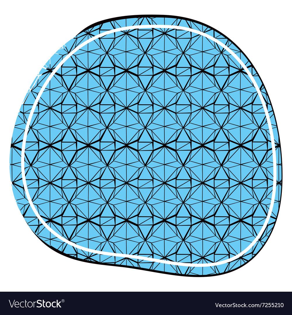 Decorative ornament in a circular composition