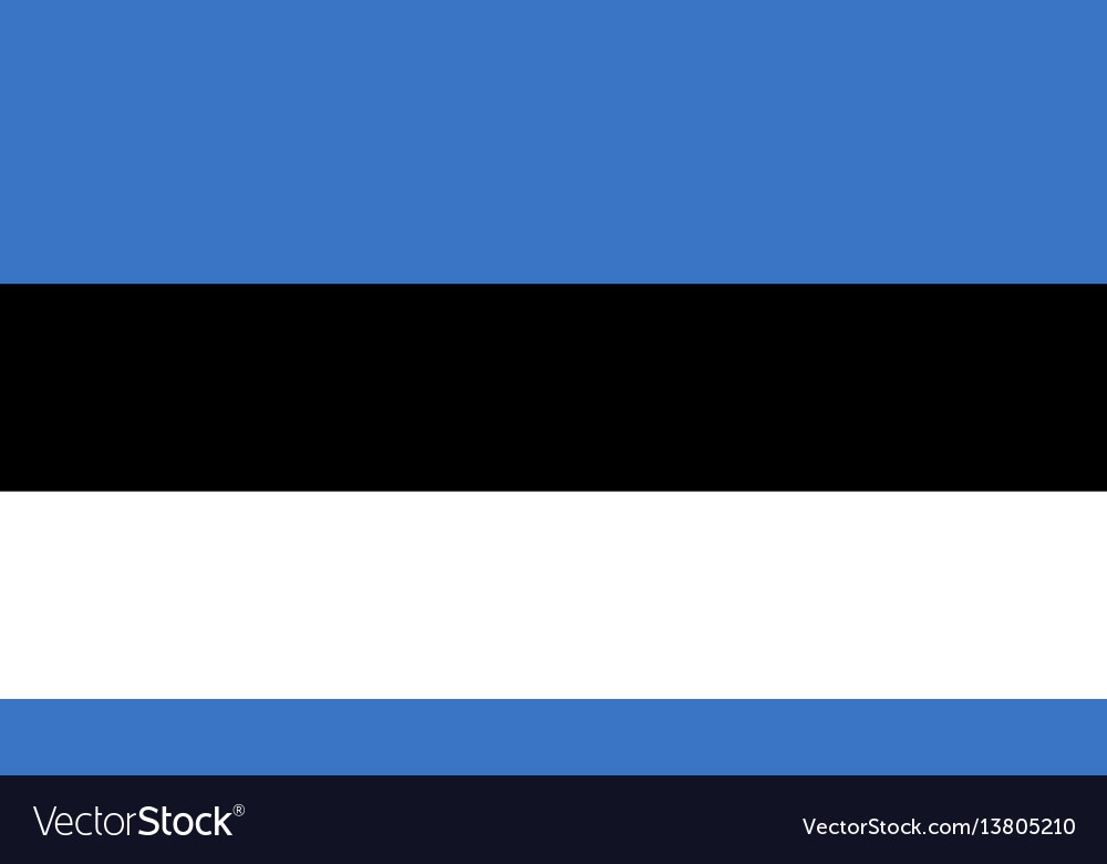 Estonia flag for independence day and infographic