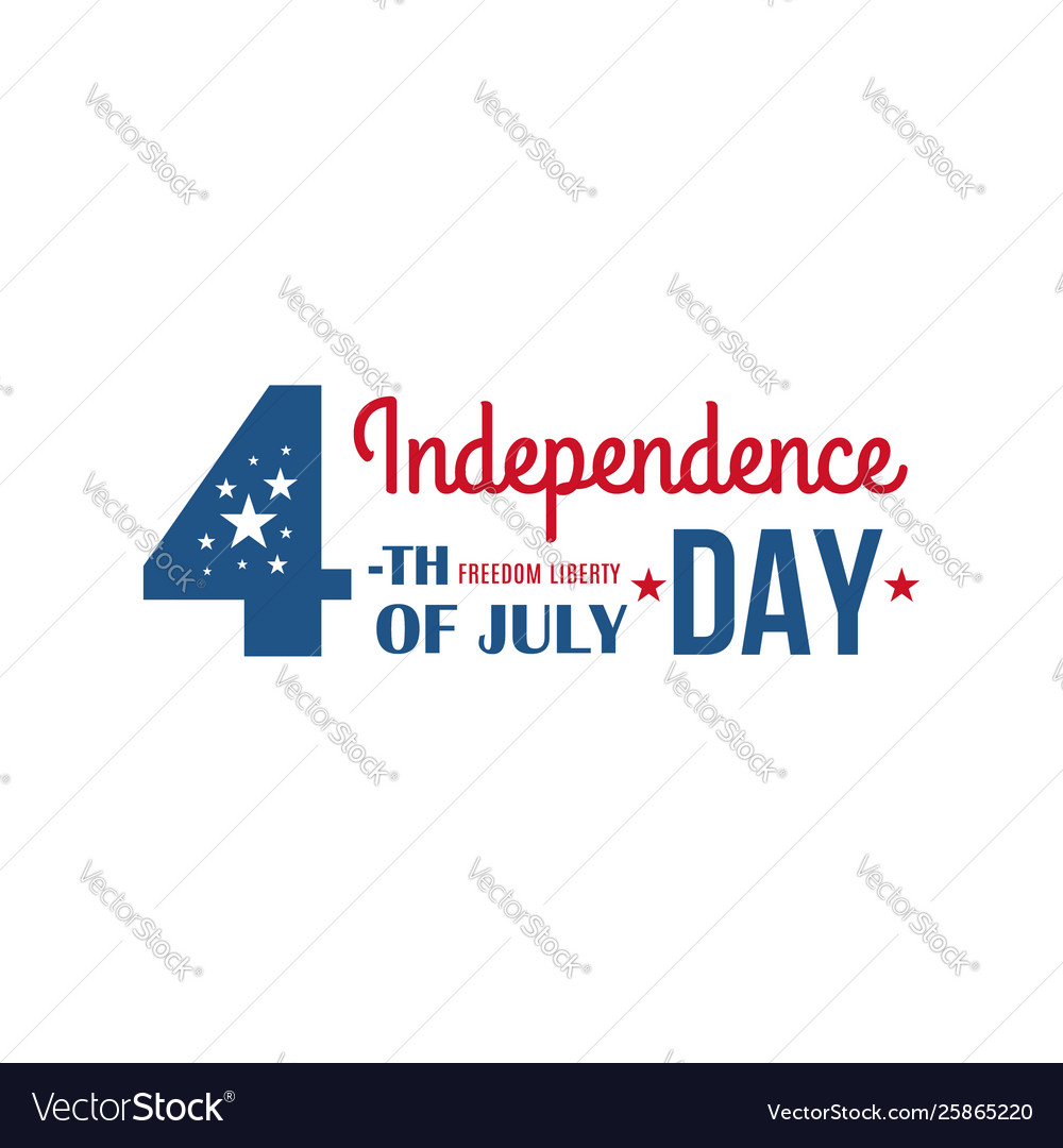 4th july united states america holiday