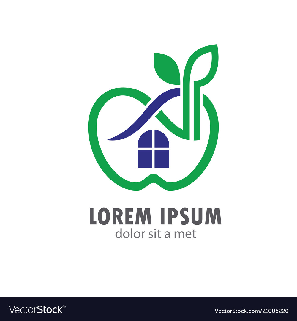 Apple home organic logo