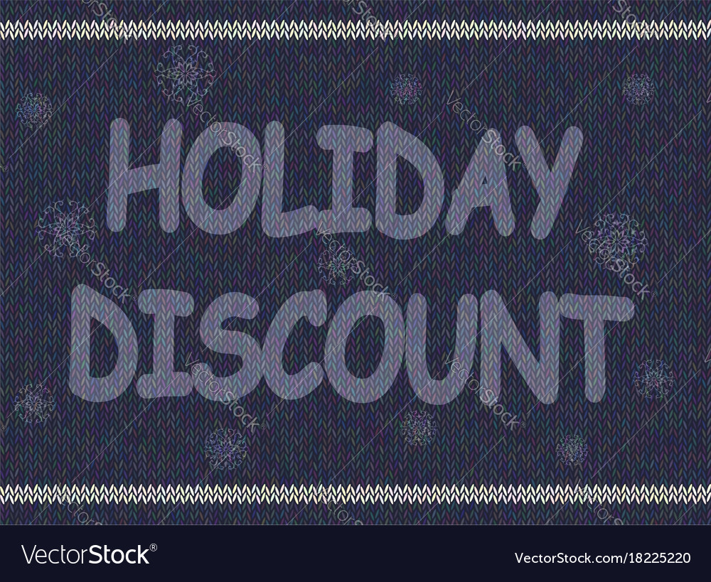 Christmas advertising text on background of
