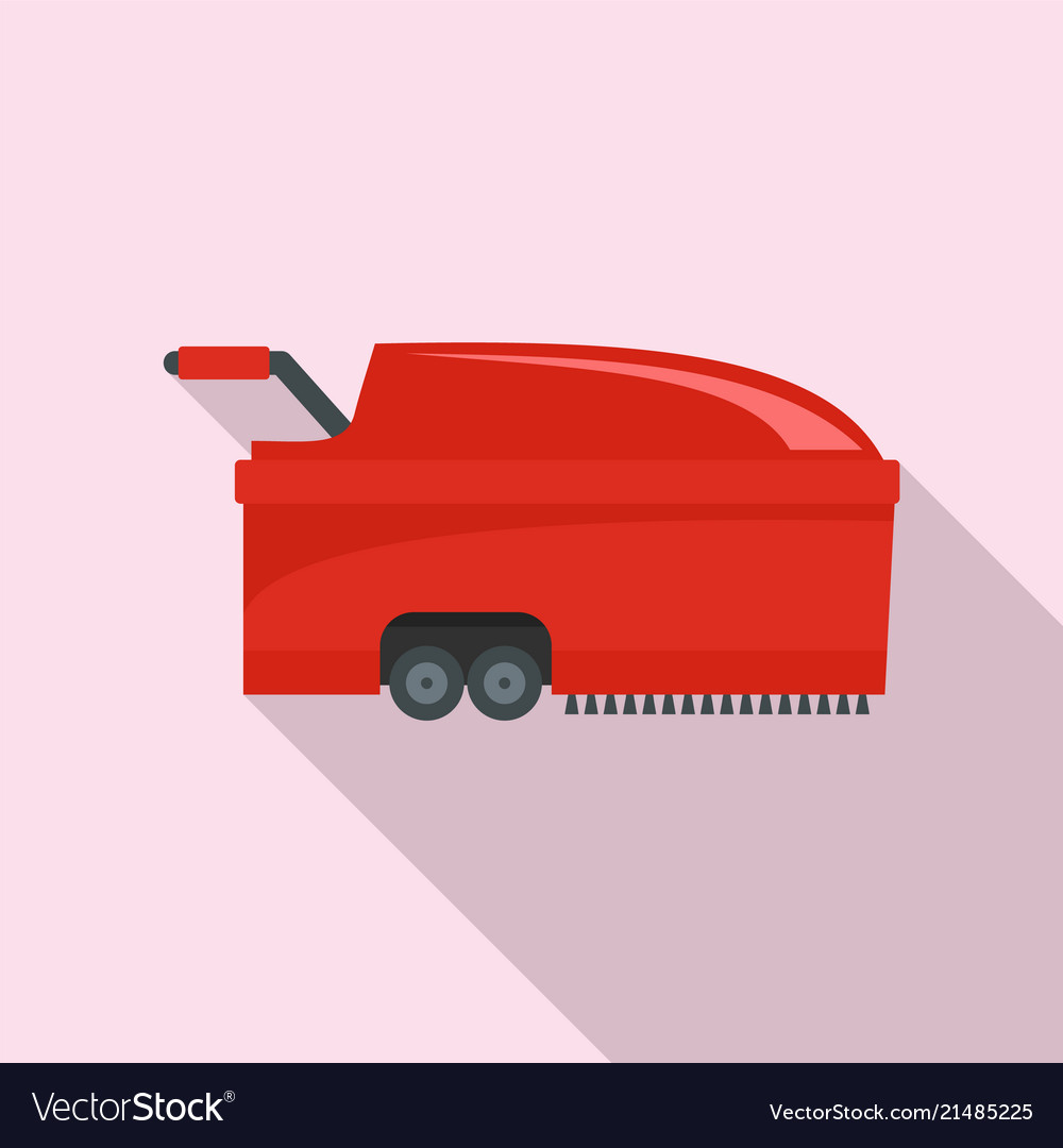 Hall vacuum cleaner icon flat style