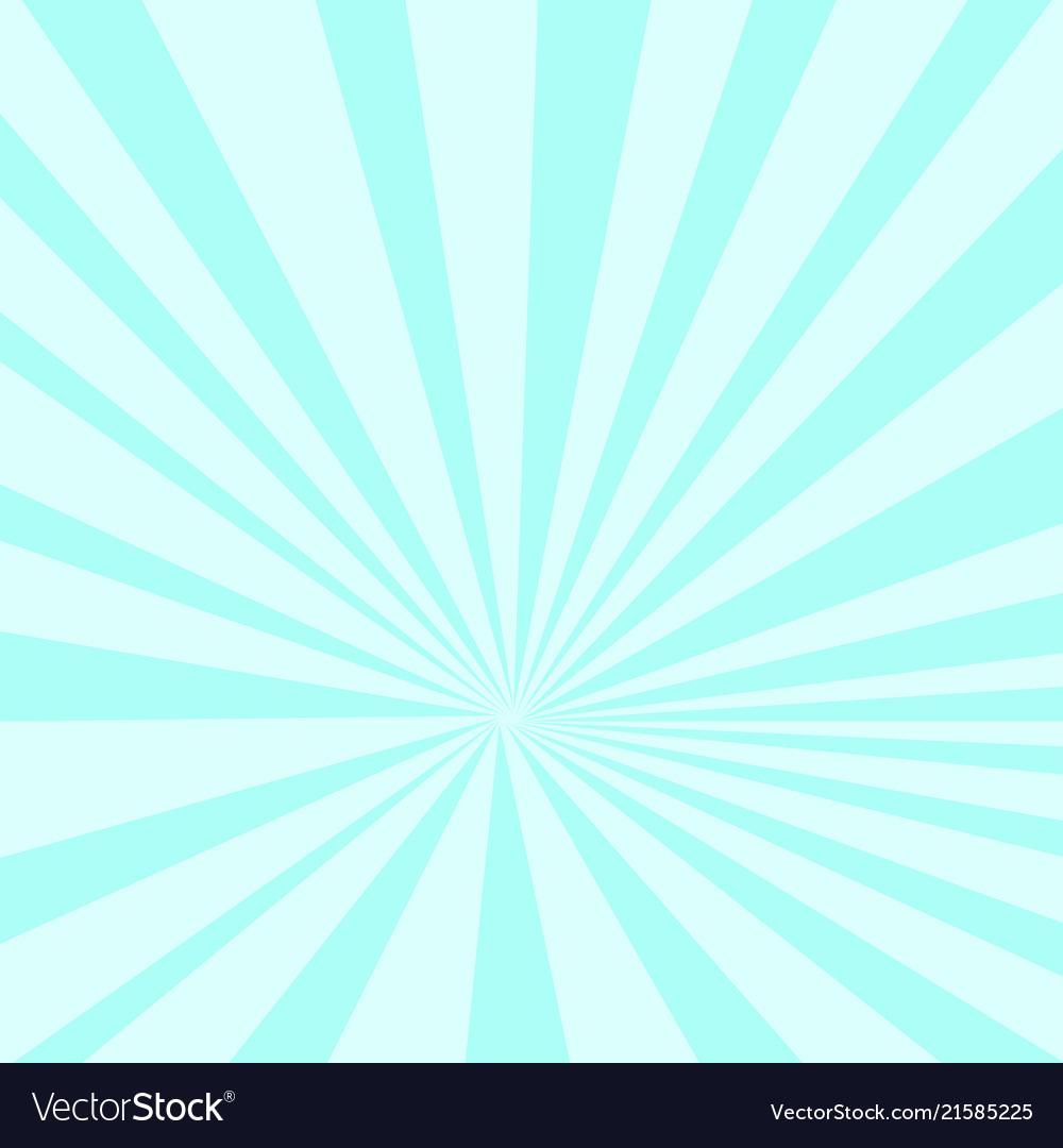 Pop art background sunlight blue gradient