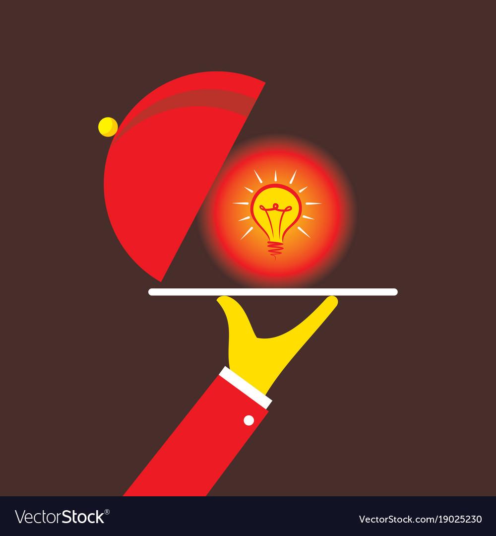 Serving idea concept design