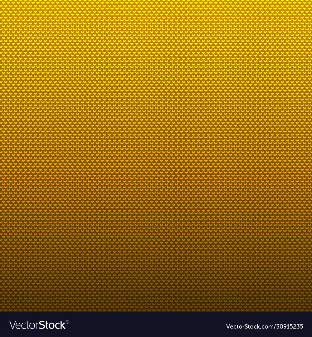 Abstract yellow chevron pattern on gradient