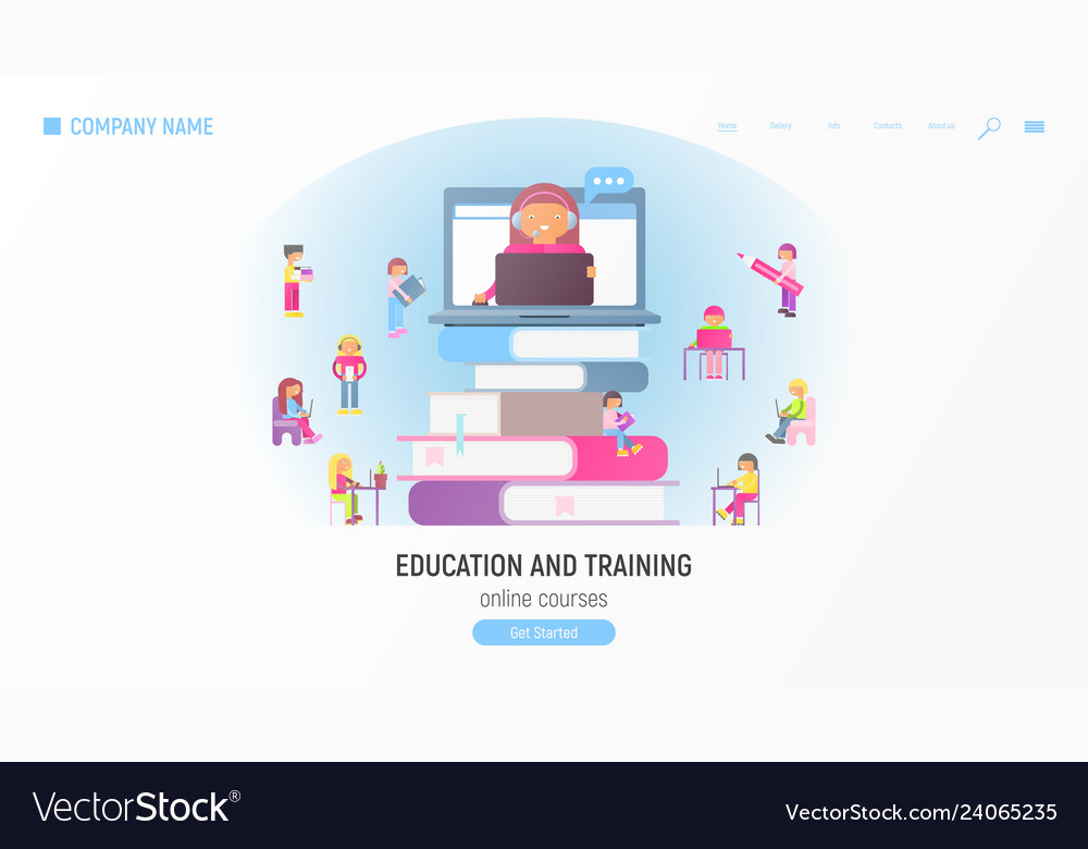 Online courses tutorials e-learning