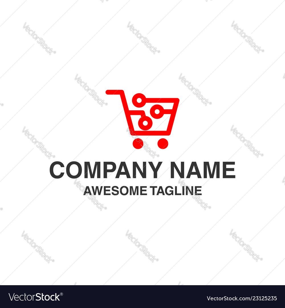 Shopping logo shopping icon store icon online