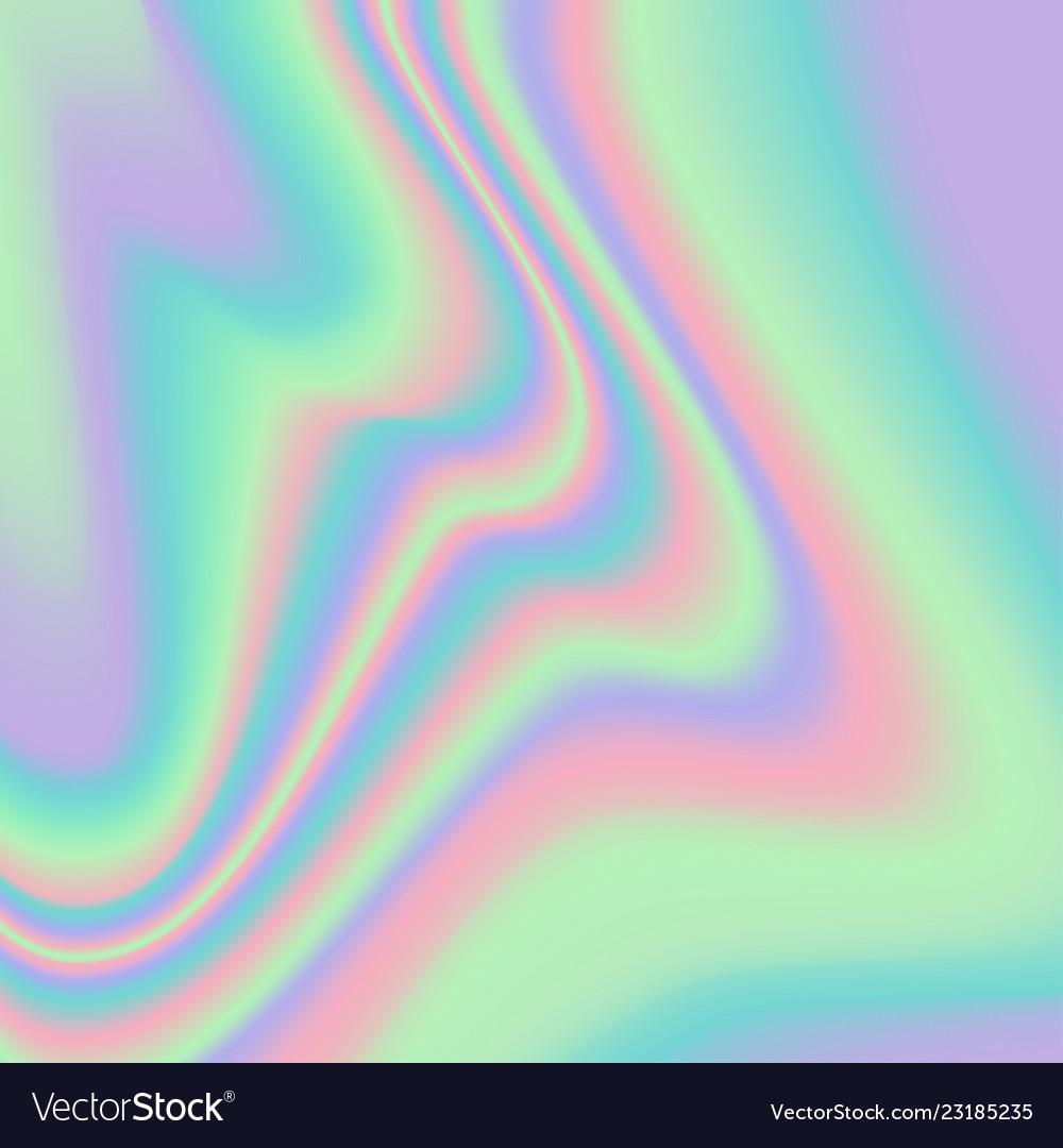 Vibrant gradient holographic texture