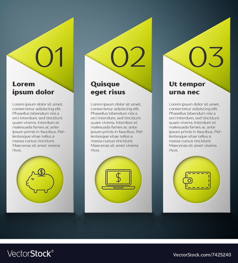 Modern Infographic design template