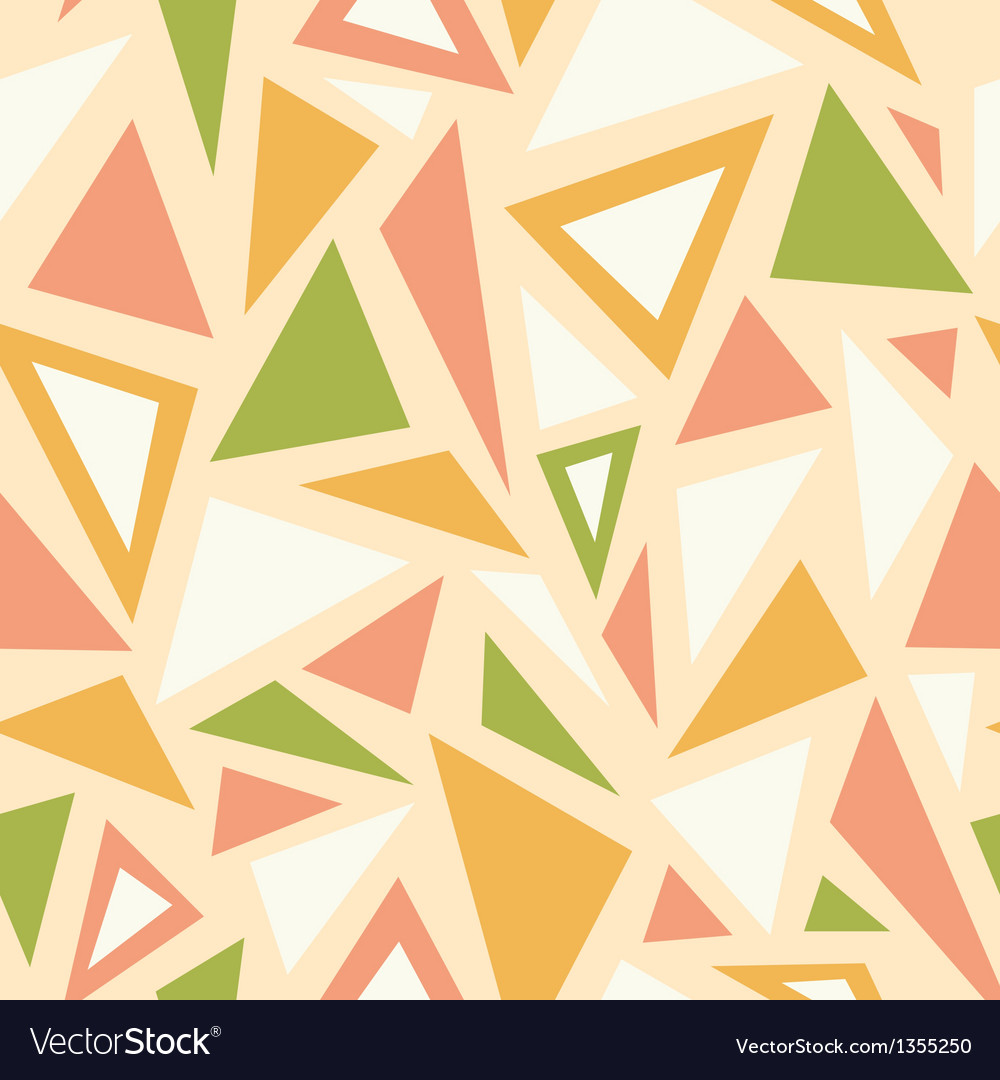 Abstract triangles seamless pattern background