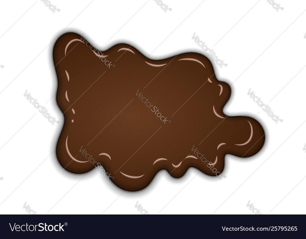 Chocolate sweet splash chocolate liquid blot