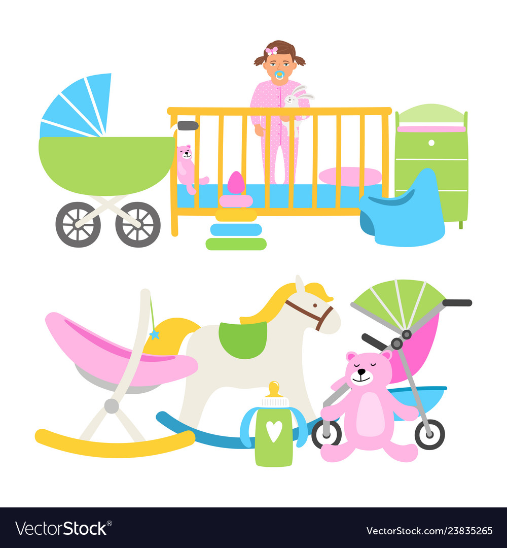 Cute babies equipment for life collection