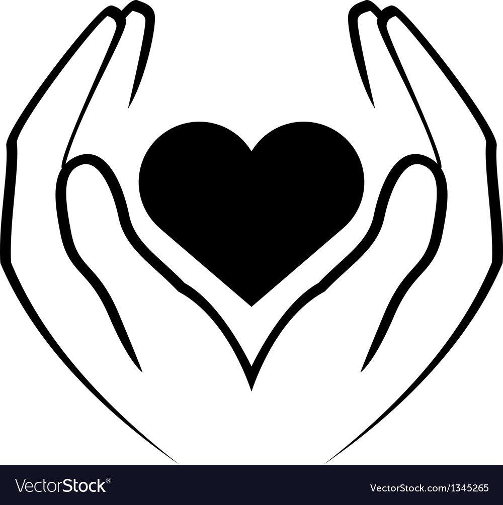 Icon - hands holding heart