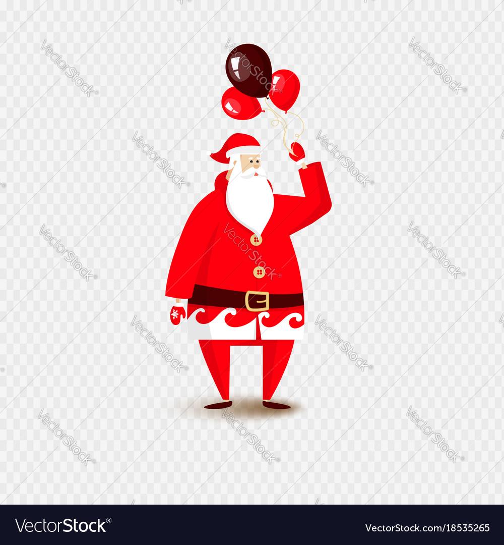 Santa claus christmas isolated
