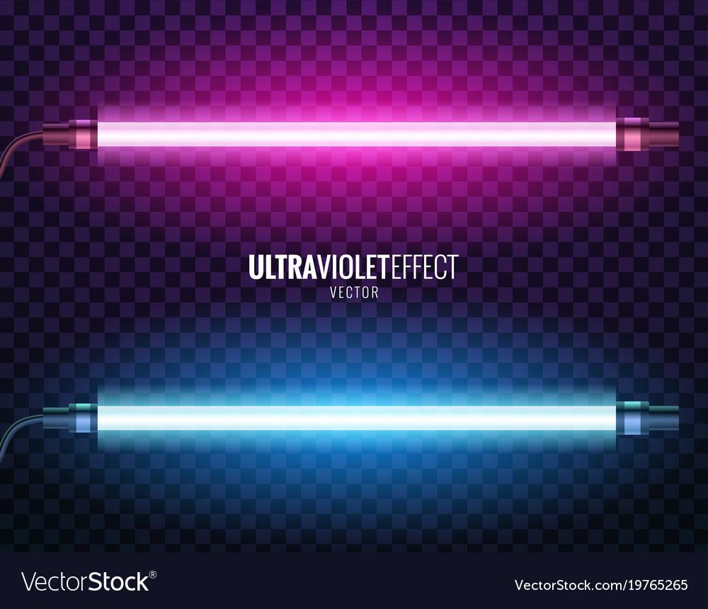 Captivating Ultraviolet Light Vector Image Idea