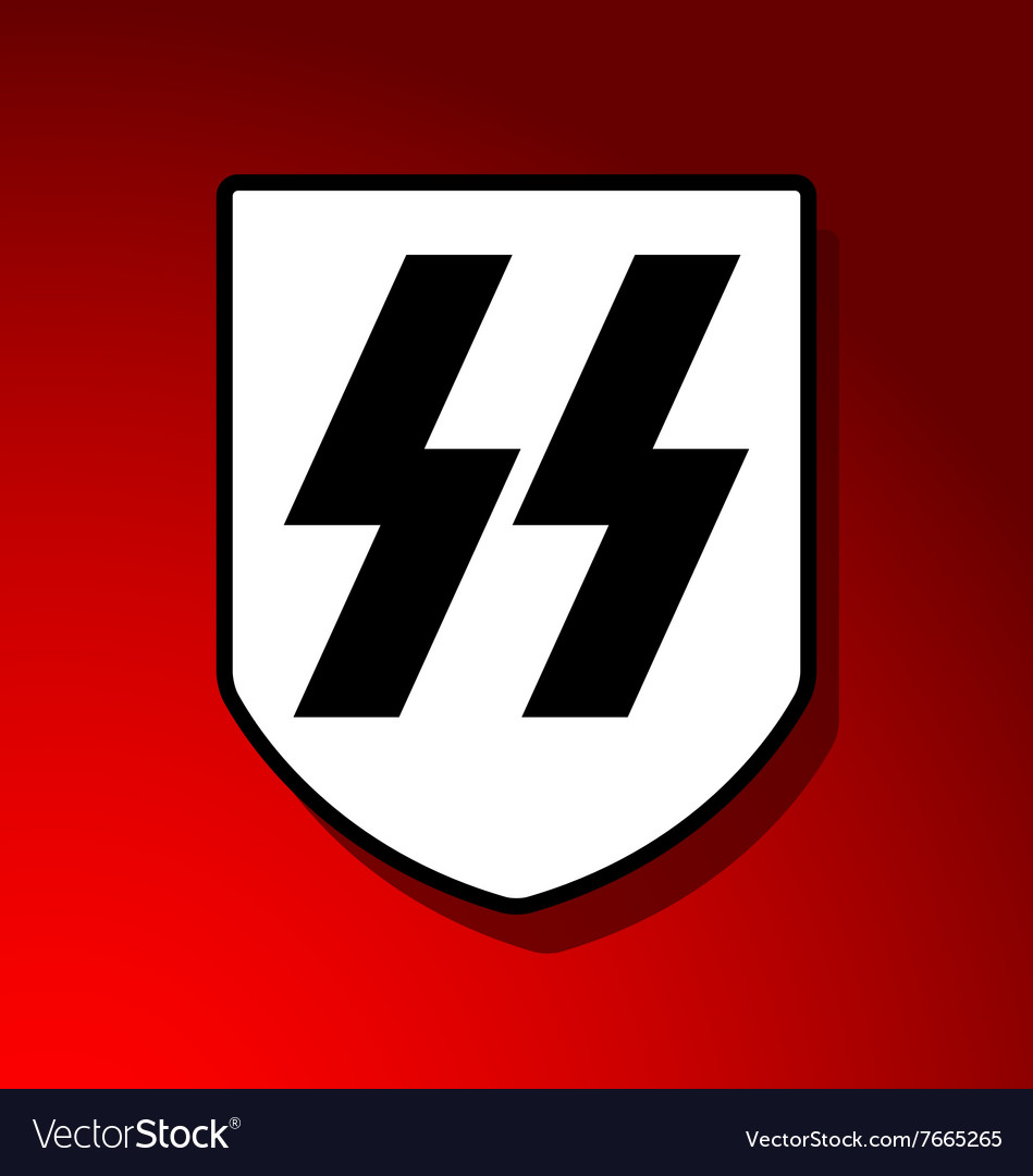 Waffen SS Insignia Royalty Free Vector Image