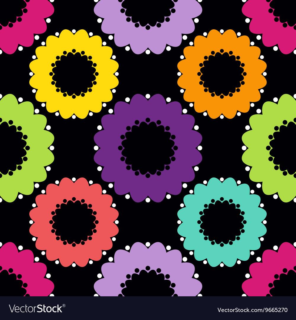 Abstract Circle Pattern Dark