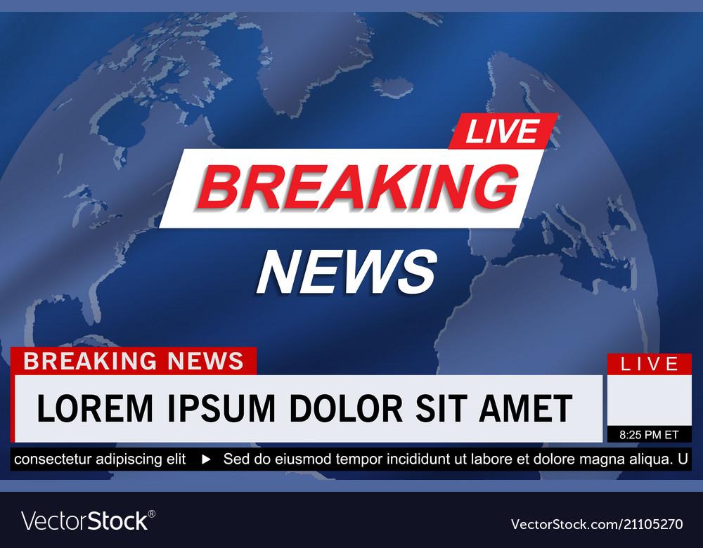 Breaking news live