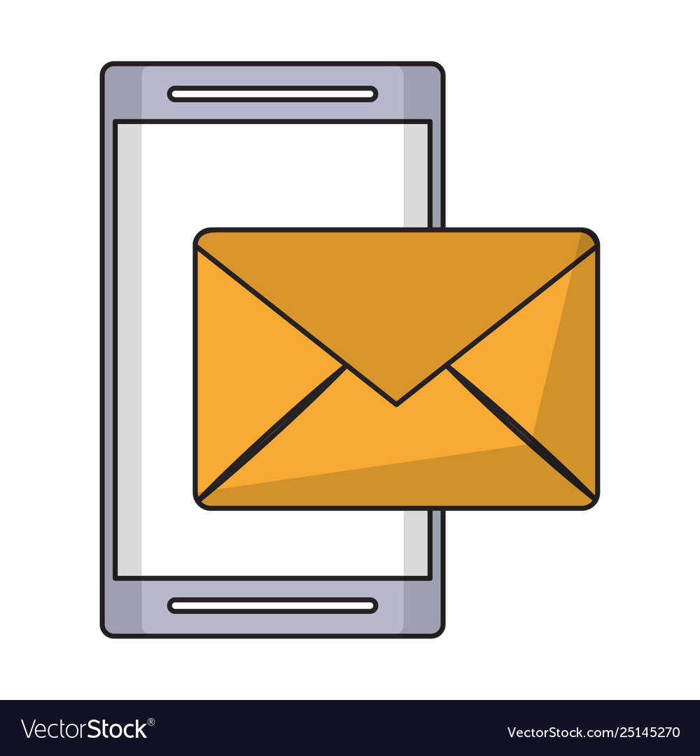 Cellphone and envelope