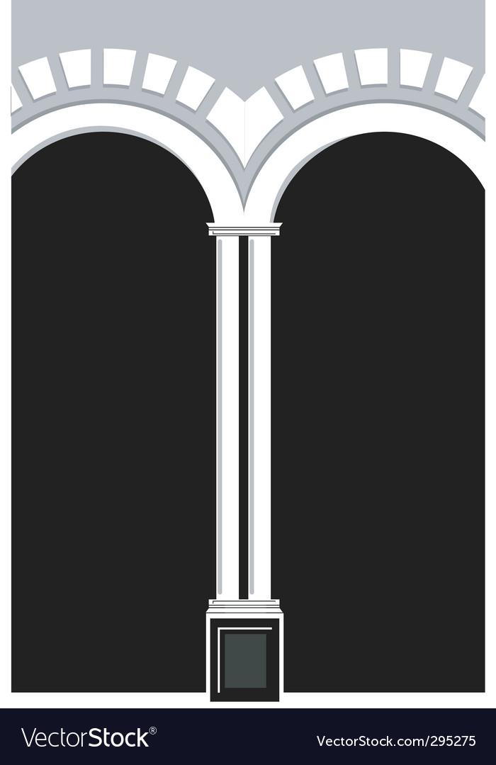 Pillar vector image