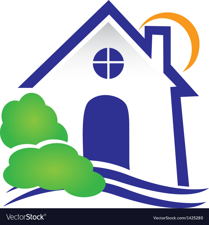House for real estate logo