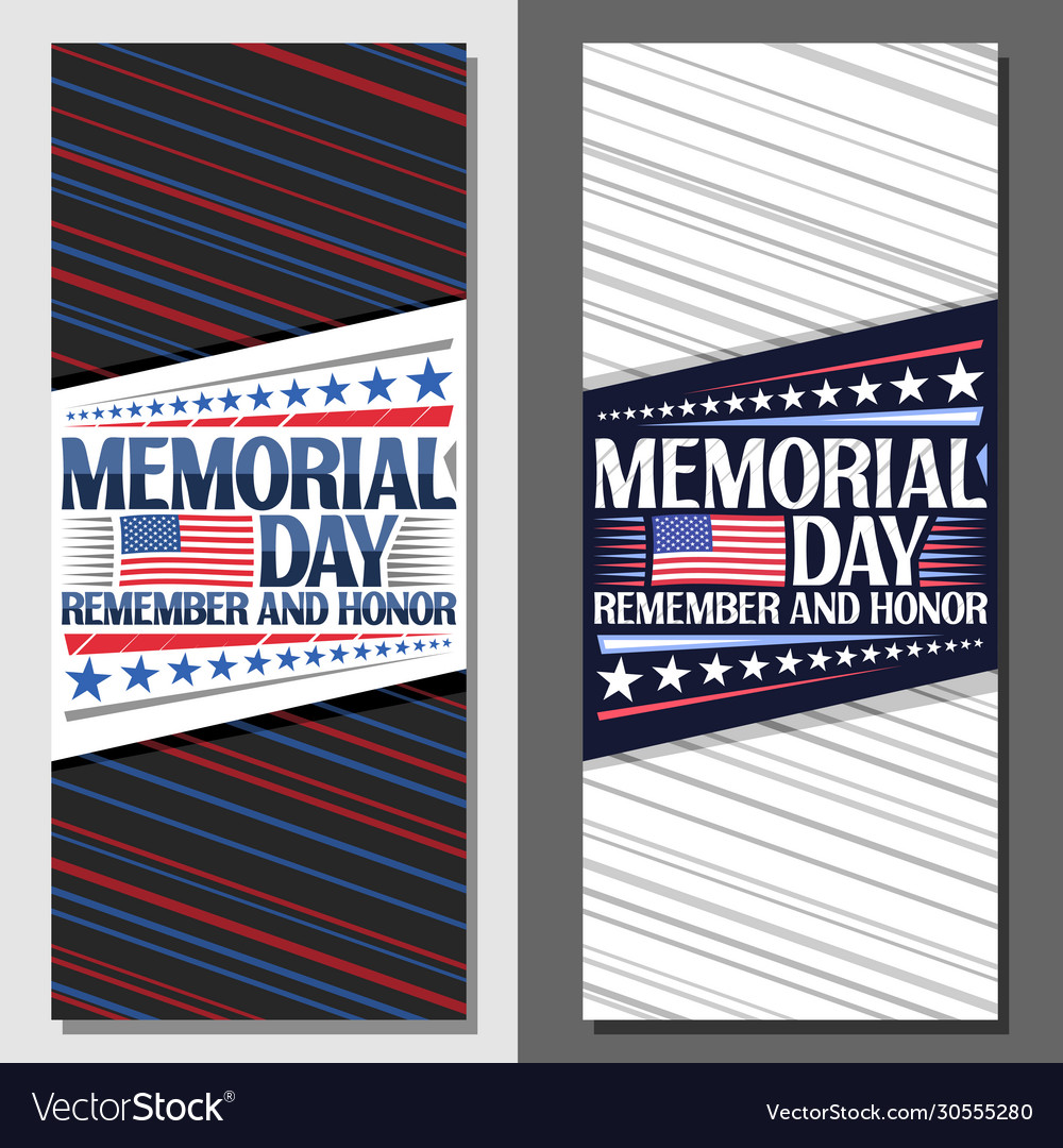 Layouts for memorial day