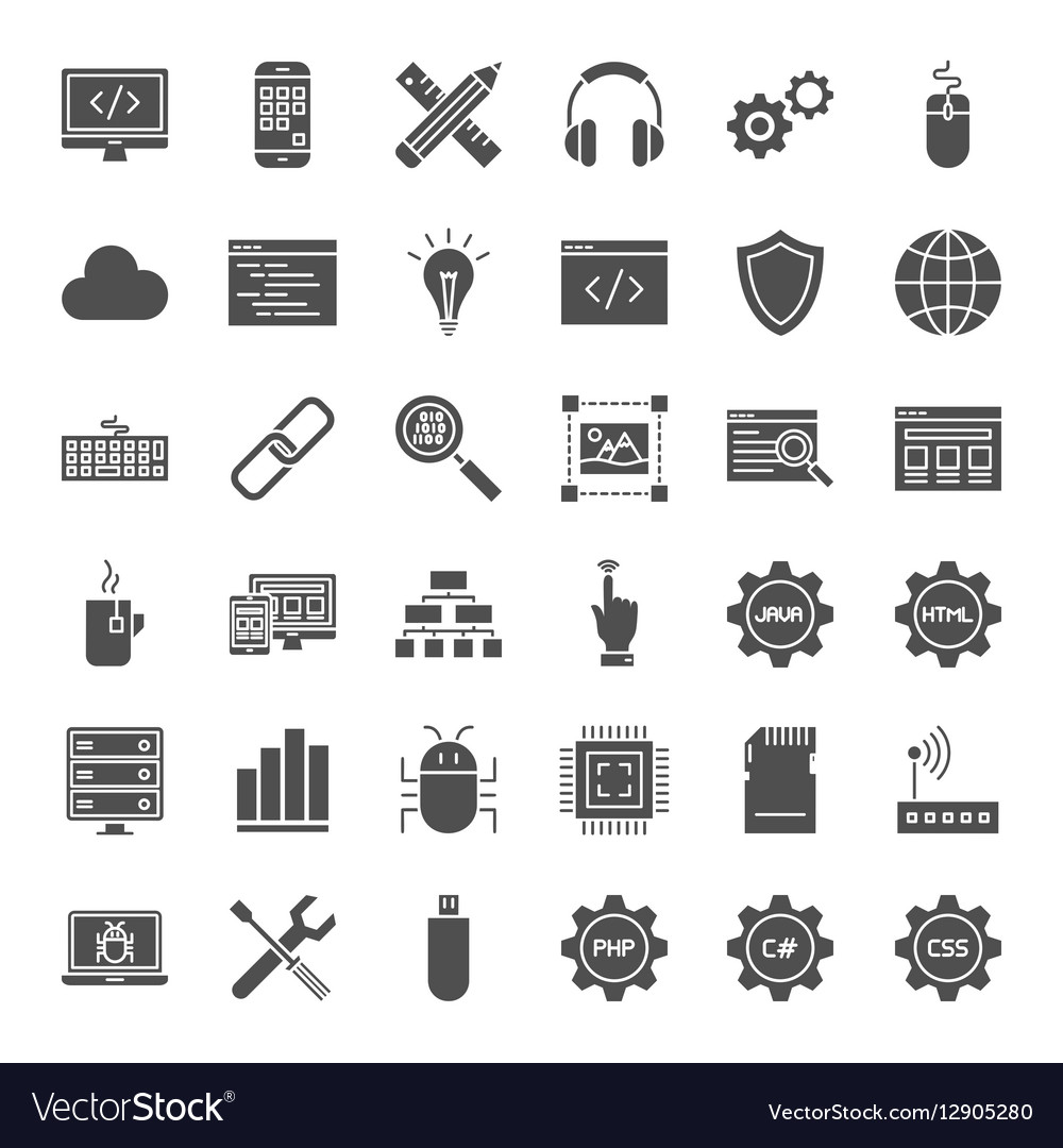 Programming Solid Web Icons