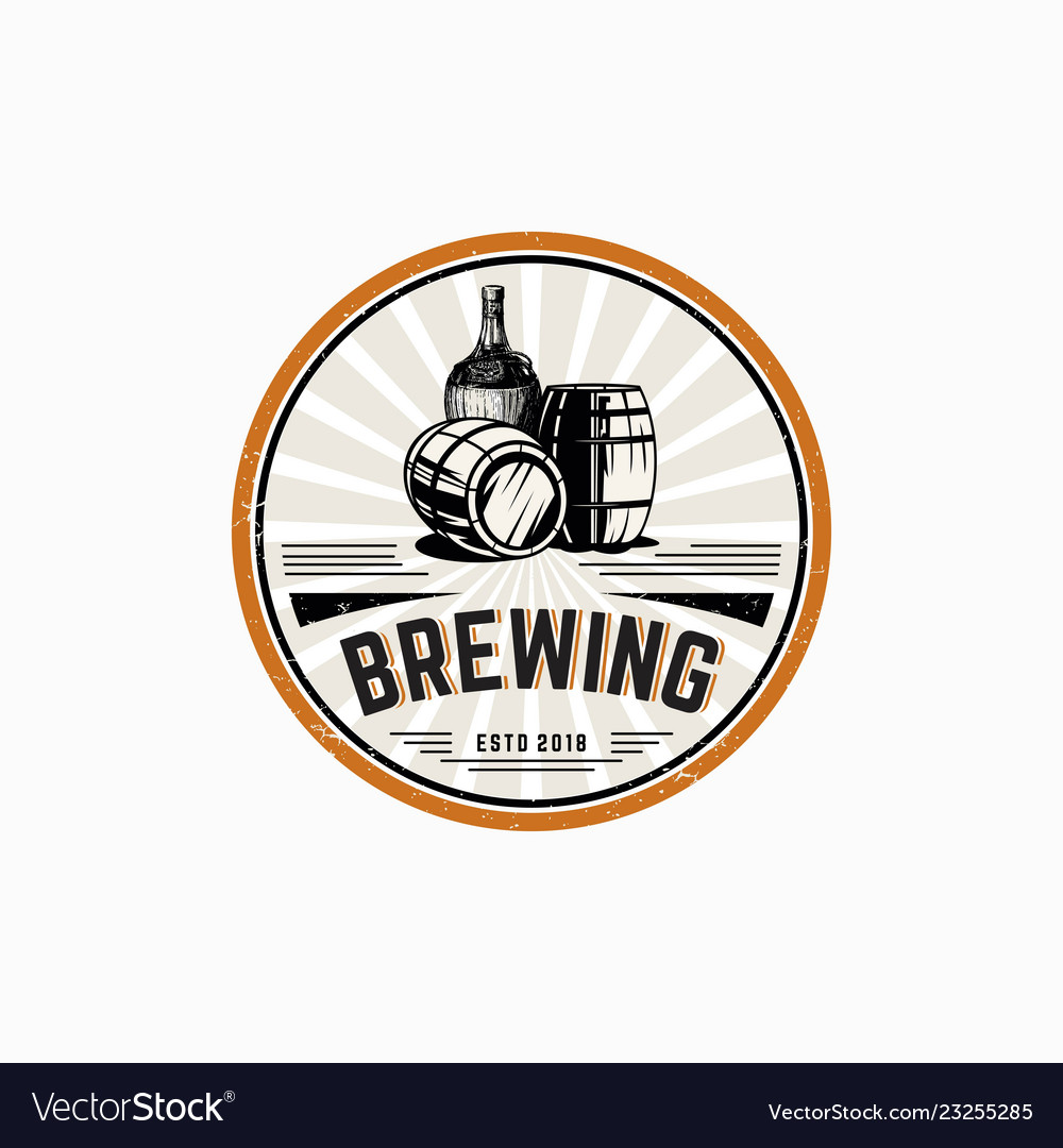Brewing logo template