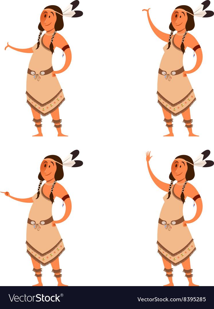 Set of indian women