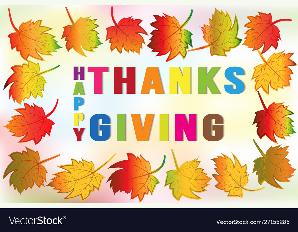 Thanksgiving greetings card holidays celebrations