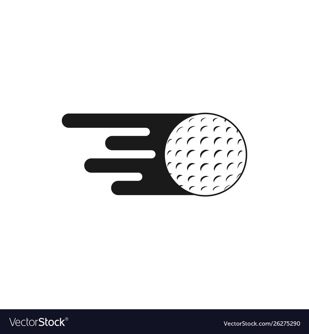 Golf icon graphic design template
