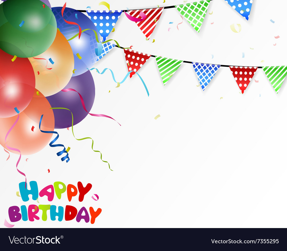 celebration background image birthday celebration background royalty free vector image 6478