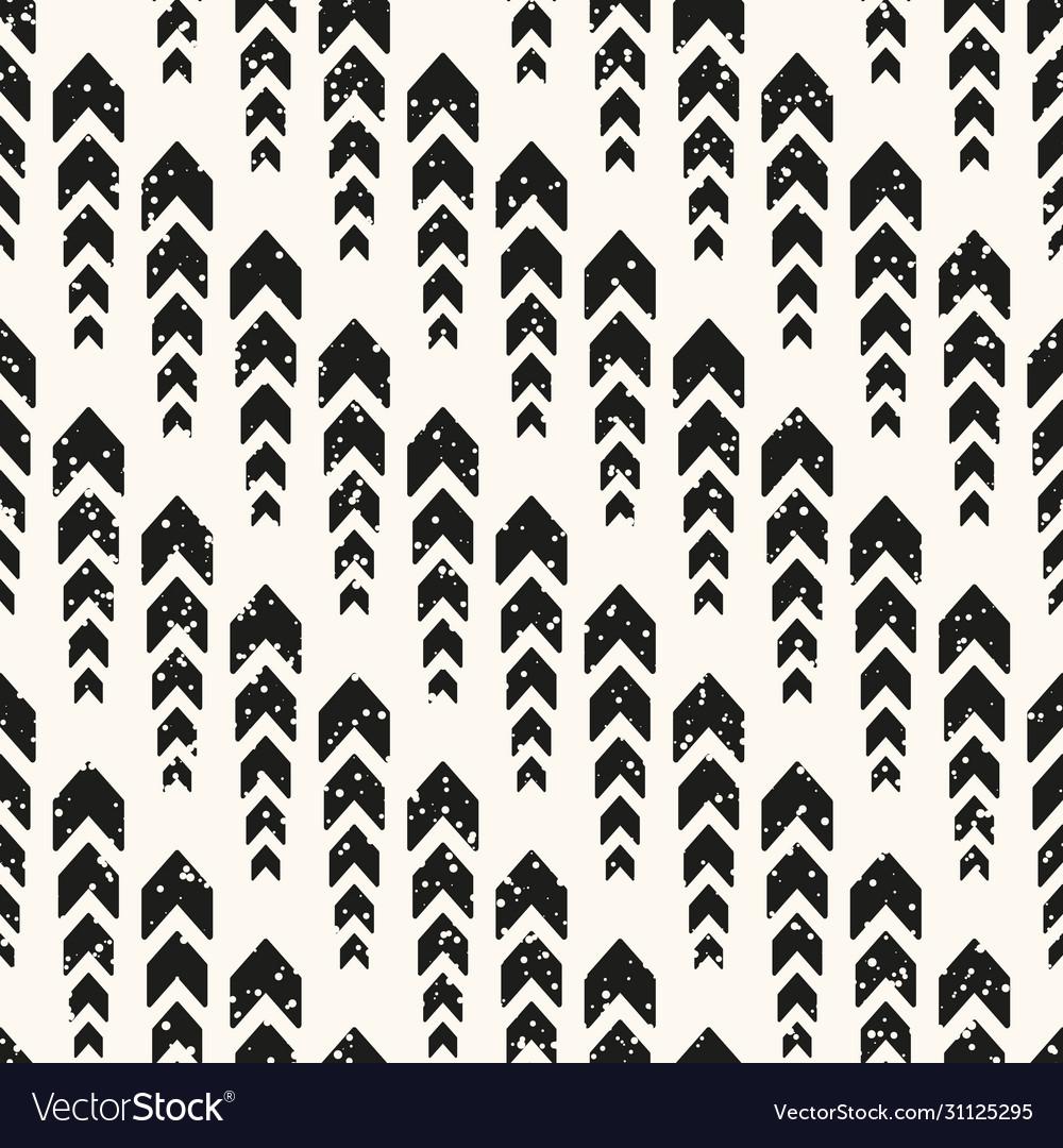 Seamless modern monochrome pattern