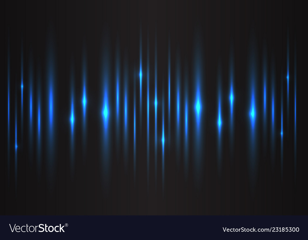 Abstract blue light speed power technology energy