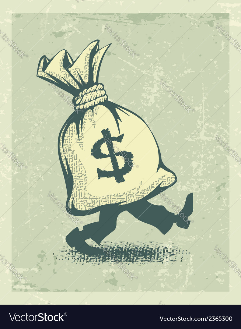 Full sack of money sign