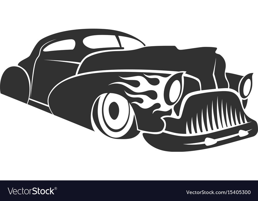 Hot rod low rider coupe
